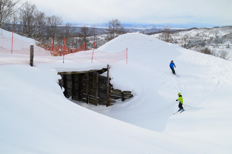 夕張滑雪場特色服務介紹 螺旋滑道